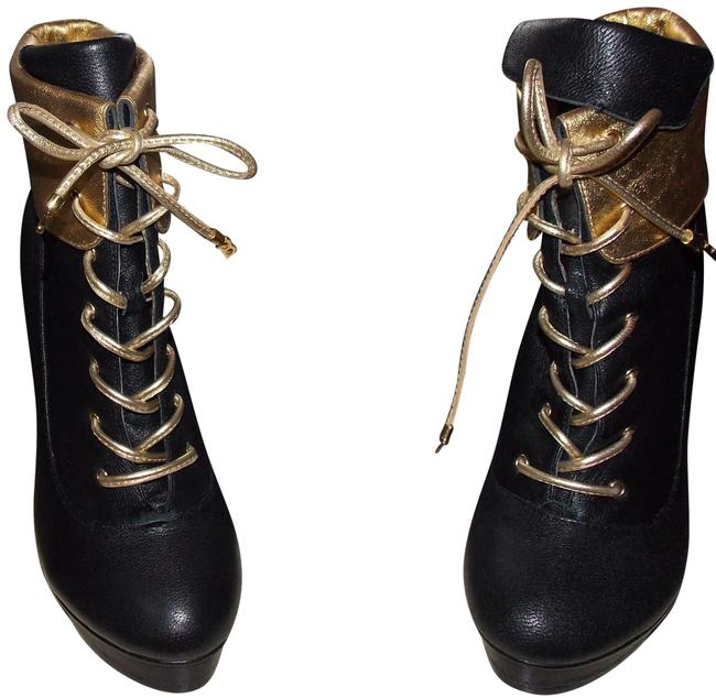 Item - And Leather Bag Boots/Booties Size US 5.5 Regular (M, B)