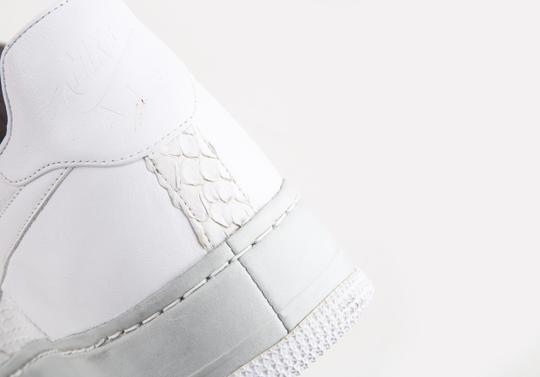 Nike White Air Force Af-1 '82 25th Anniversary Shoes Image 8