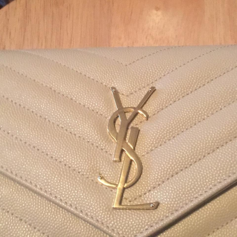 Saint laurent large monogram quilted wallet on a chain nude jpg 960x959 Ysl  powder clutch 86742a7528d37