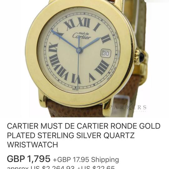 Cartier Cartier Ronde 33mm watch with a date Image 9
