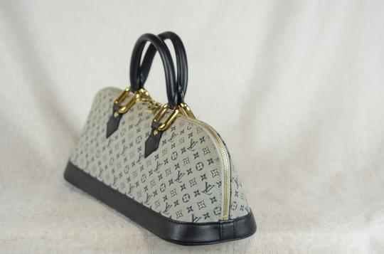 Louis Vuitton Josephine Alma Monogram Tote in Blue Image 4