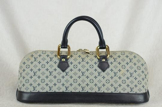 Louis Vuitton Josephine Alma Monogram Tote in Blue Image 5