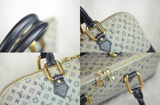 Louis Vuitton Josephine Alma Monogram Tote in Blue Image 9