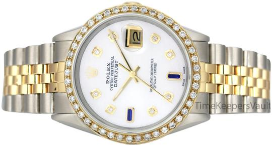 Preload https://img-static.tradesy.com/item/23818080/rolex-white-mens-datejust-36mm-two-tone-blue-diamond-watch-0-1-540-540.jpg