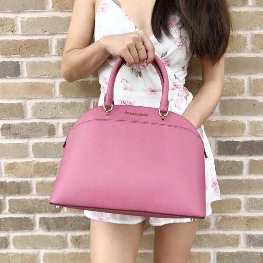 Michael Kors Emmy Crossbody New With Tag Satchel in Tulip Pink