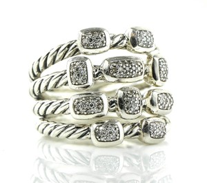 David Yurman Four Row Confetti Diamonds Ring