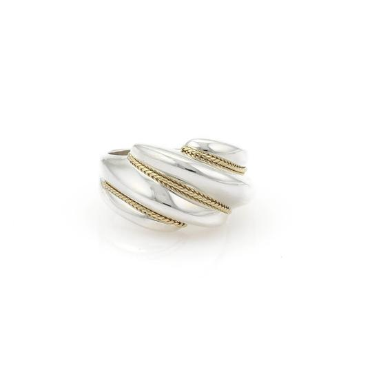 Preload https://item5.tradesy.com/images/tiffany-and-co-sterling-silver-18k-yellow-gold-shrimp-style-ring-23818154-0-0.jpg?width=440&height=440