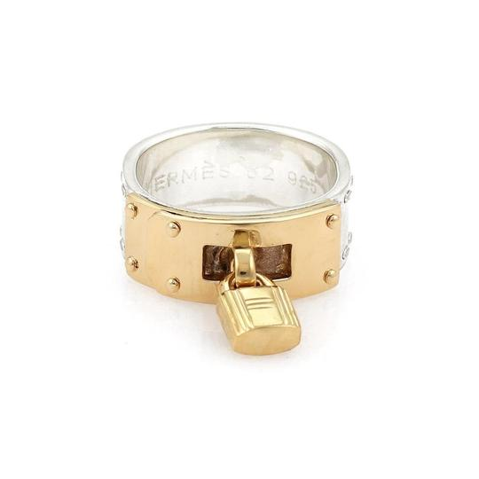 Preload https://img-static.tradesy.com/item/23818192/hermes-ring-sterling-18k-yellow-gold-padlock-drop-charm-band-size-52-ring-0-0-540-540.jpg