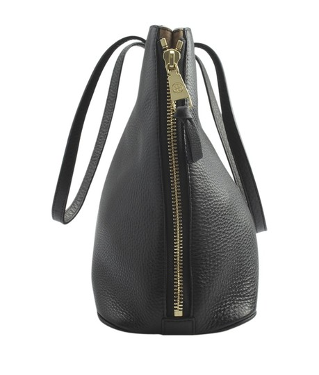 Tory Burch Leather Tote in Black Image 2