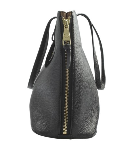 Tory Burch Leather Tote in Black Image 3