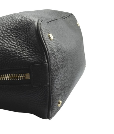 Tory Burch Leather Tote in Black Image 6