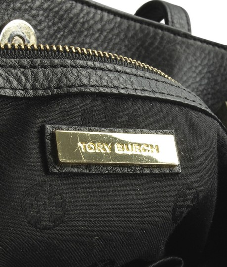 Tory Burch Leather Tote in Black Image 9