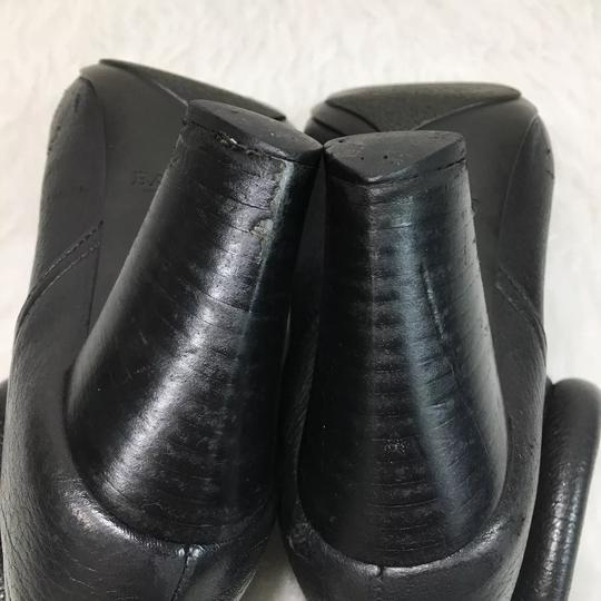 Bally Leather Ankle Black Boots