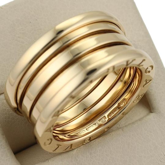 BVLGARI Bulgari B Zero-1 18k Yellow Gold 12mm Band Ring Size EU 57
