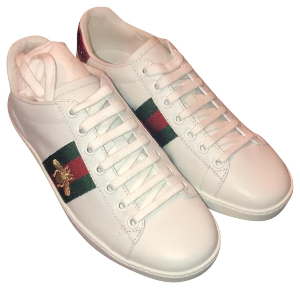 9d997d49a5f Gucci White New Ace Sneaker Sneakers Size EU 36 (Approx. US 6 ...