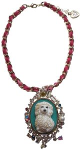 Betsey Johnson Betsey Johnson New Poodle Cameo Necklace
