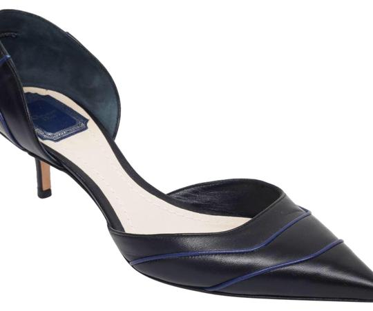 Preload https://item3.tradesy.com/images/dior-black-with-navy-leather-d-orsay-pointy-toe-kitten-heel-pumps-size-us-8-regular-m-b-23818317-0-1.jpg?width=440&height=440