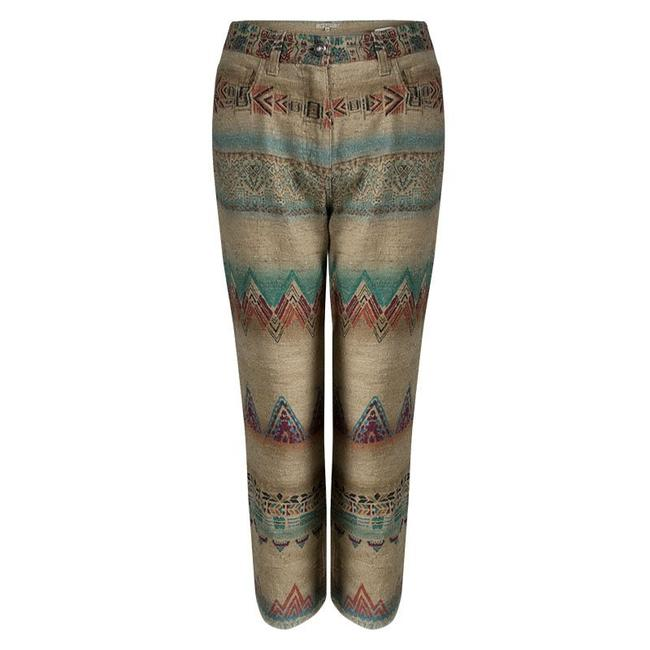 Preload https://item2.tradesy.com/images/etro-beige-aztec-printed-textured-fringed-s-trousers-size-4-s-27-23818431-0-0.jpg?width=400&height=650