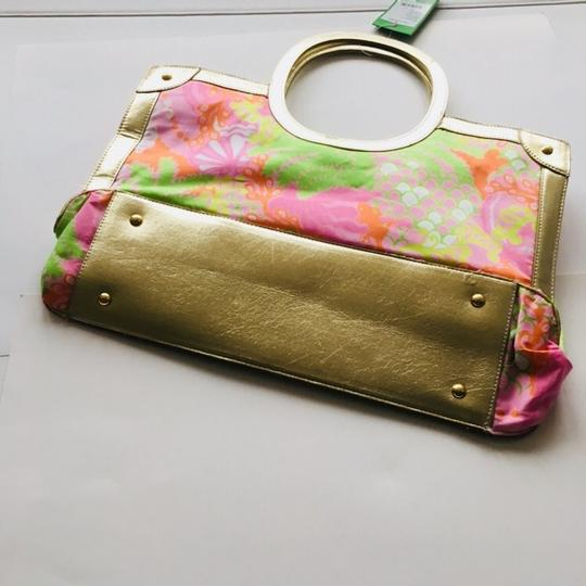 Lilly Pulitzer Tote in Pink , Multi and Gold