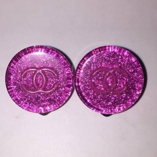 Chanel Chanel Resin Clip On Earrings