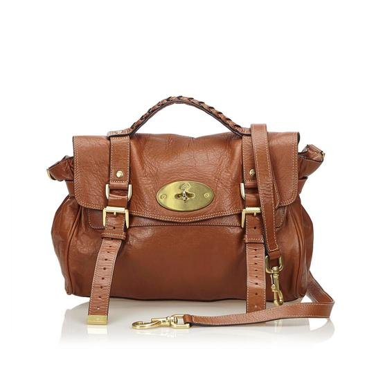 Mulberry 8embst002 Satchel in Brown