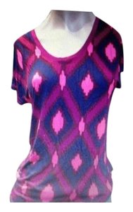 Gap T Shirt Purple and Pink
