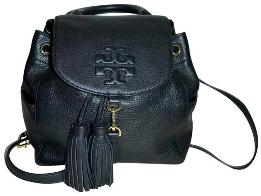 Preload https://item3.tradesy.com/images/tory-burch-thea-mini-black-leather-backpack-23818512-0-6.jpg?width=440&height=440