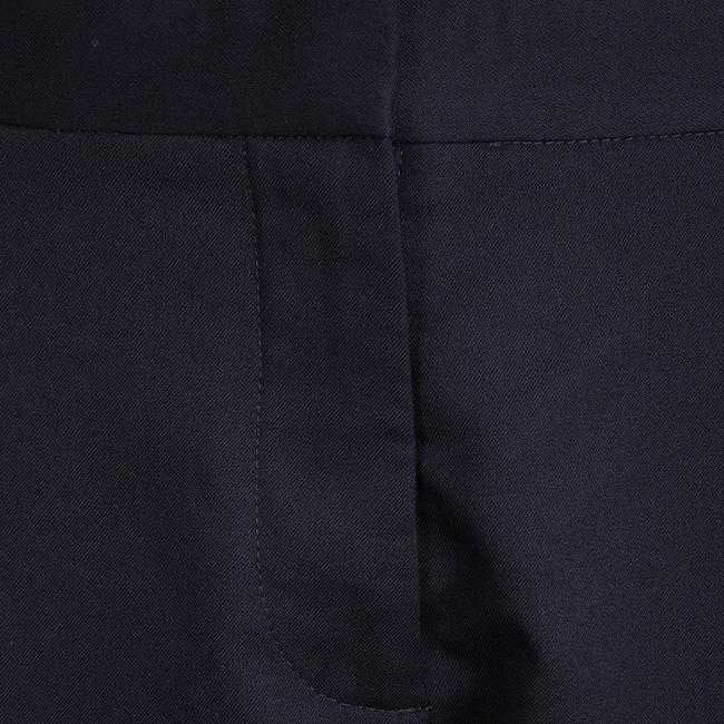 Stella McCartney Wool Trouser Pants Navy Blue