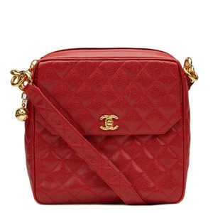 Chanel Caviar Camera Classic Flap Shoulder Bag