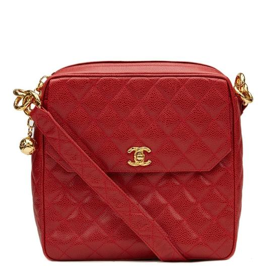 Preload https://item2.tradesy.com/images/chanel-classic-flap-vintage-with-gold-hardware-red-caviar-leather-shoulder-bag-23818546-0-0.jpg?width=440&height=440