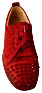 Preload https://item3.tradesy.com/images/christian-louboutin-red-sneakers-size-us-7-regular-m-b-23818547-0-1.jpg?width=440&height=440