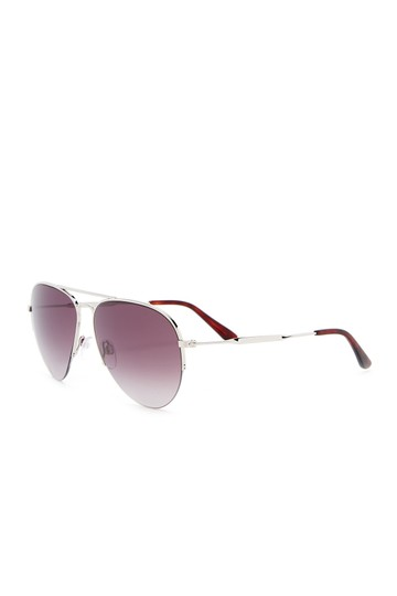 Balenciaga 58mm Aviator Sunglasses