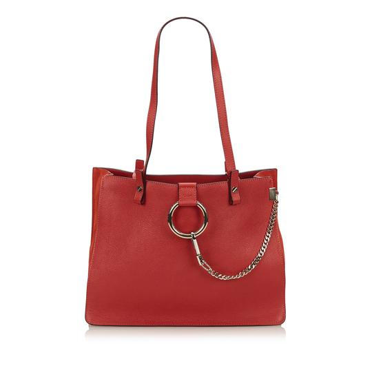 Preload https://img-static.tradesy.com/item/23818567/chloe-faye-red-leather-x-others-tote-0-0-540-540.jpg