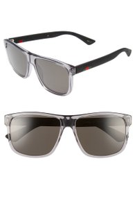 Gucci NEW Gucci 58mm Sunglasses Mens Polarized Grey GG0010S