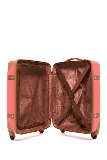 Diane von Furstenberg Dvf Luggage Suitecase Adieu Saluti sunset Travel Bag