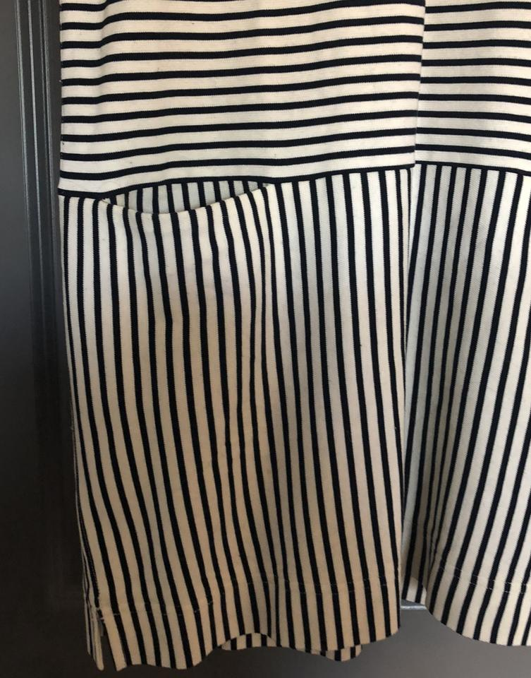 Madewell Black Casual Short Dress White and SUSg7