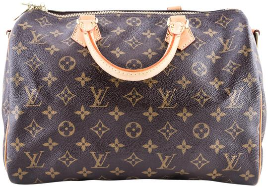 Preload https://item5.tradesy.com/images/louis-vuitton-speedy-bandouliere-30-monogram-brown-coated-canvas-tote-23818689-0-1.jpg?width=440&height=440