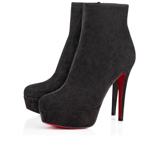 Preload https://item3.tradesy.com/images/christian-louboutin-grey-bianca-120-charbon-suede-platform-classic-ankle-heel-bootsbooties-size-eu-3-23818707-0-0.jpg?width=440&height=440