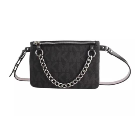 Preload https://item1.tradesy.com/images/michael-kors-black-x-large-waist-purse-fanny-pack-size-x-large-belt-23818710-0-0.jpg?width=440&height=440