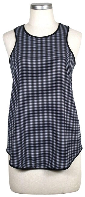 Preload https://item1.tradesy.com/images/peter-pilotto-for-target-black-and-gray-illusion-tank-topcami-size-2-xs-23818730-0-1.jpg?width=400&height=650