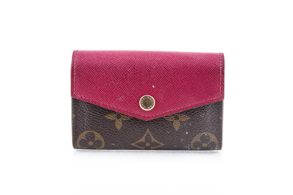 c6fbff59f4cf Louis Vuitton Louis Vuitton Sarah Multicartes Card Holder Wallet Monogram  Canvas Image 0 ...