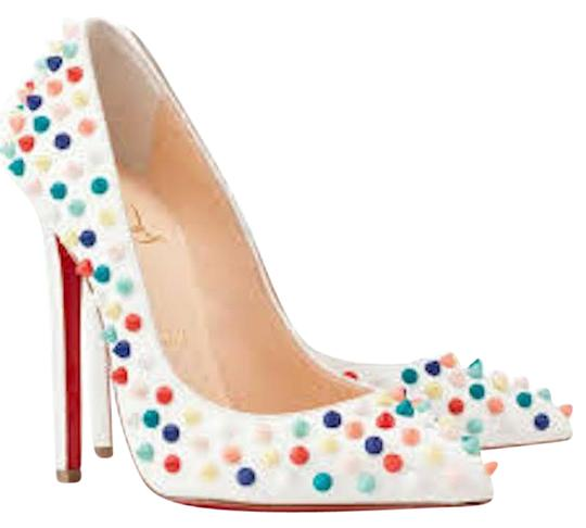 Preload https://item4.tradesy.com/images/christian-louboutin-white-pigalle-120-red-multi-spike-pumps-size-eu-40-approx-us-10-regular-m-b-23818748-0-1.jpg?width=440&height=440