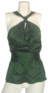 Preload https://item1.tradesy.com/images/tracy-reese-green-silk-satin-women-formal-party-career-tank-topcami-size-8-m-23818755-0-1.jpg?width=400&height=650