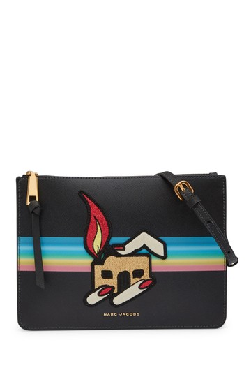 Preload https://item3.tradesy.com/images/marc-jacobs-embroidered-and-embellished-black-leather-cross-body-bag-23818762-0-0.jpg?width=440&height=440