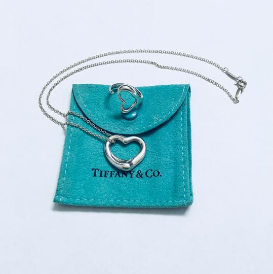 Tiffany & Co. Tiffany & Co. Open Heart Necklace and Ring