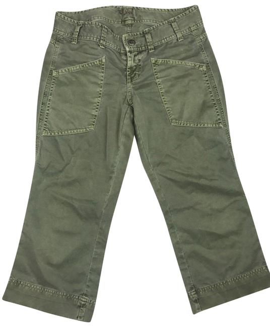 Preload https://img-static.tradesy.com/item/23818849/joie-green-excellent-used-condition-by-capricropped-jeans-size-25-2-xs-0-1-650-650.jpg