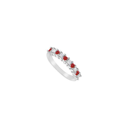 Preload https://img-static.tradesy.com/item/23818878/white-red-created-ruby-and-cubic-zirconia-925-sterling-silver-050-ct-tgw-ring-0-0-540-540.jpg