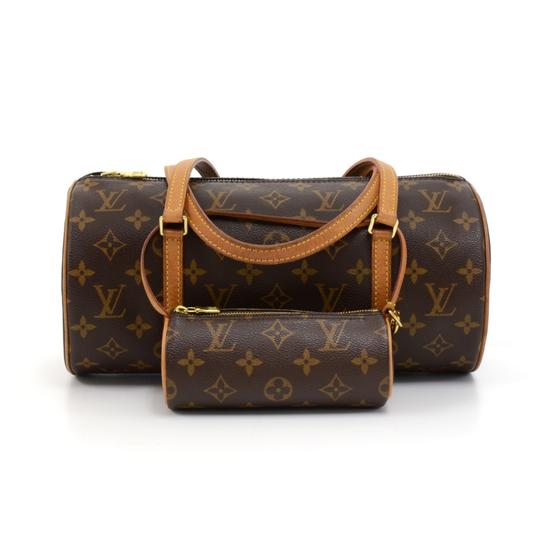 Preload https://item3.tradesy.com/images/louis-vuitton-papillon-30-monogram-hand-pouch-brown-canvas-hobo-bag-23818892-0-0.jpg?width=440&height=440