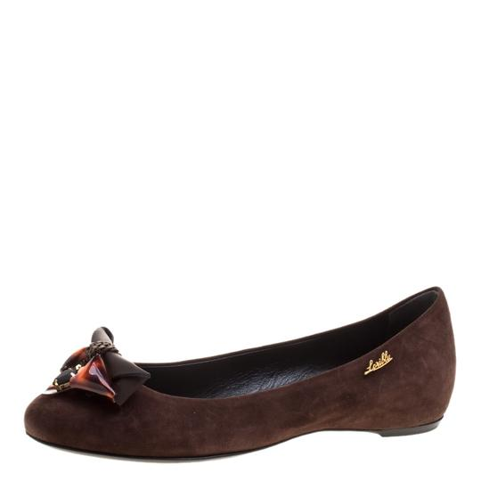 Preload https://item2.tradesy.com/images/loriblu-brown-dark-crystal-and-chain-embellished-suede-ballet-si-flats-size-eu-375-approx-us-75-regu-23818921-0-0.jpg?width=440&height=440
