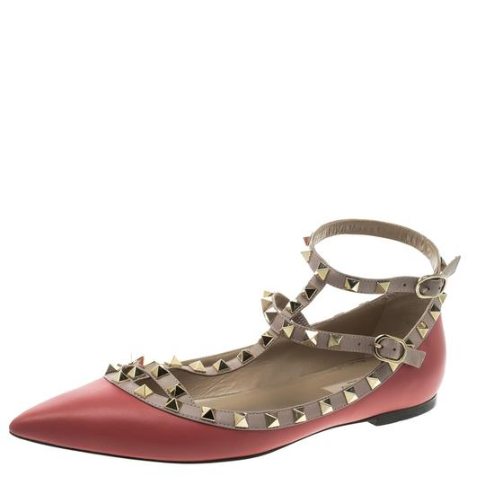 Preload https://item1.tradesy.com/images/valentino-red-leather-t-strap-rockstud-ballet-flats-size-eu-395-approx-us-95-regular-m-b-23818935-0-0.jpg?width=440&height=440